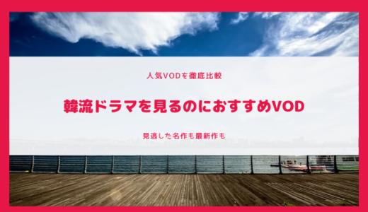 【VOD比較】韓流ドラマを見るのにおすすめのVOD|見逃した名作も最新作もこれ1つで【2020年最新版】